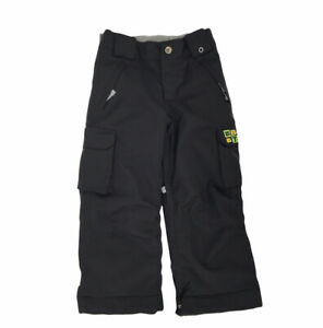 Burton Boys Snow Pants Exile Cargo Snowboard Ski Black Insulated Size Small