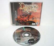 Dragon Riders Chronicles of Pern (Sega Dreamcast) Complete Manual Dragonriders