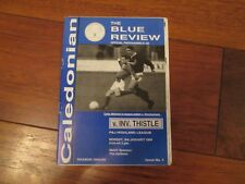 1993/4 INVERNESS CALEDONIAN v INVERNESS THISTLE (LAST NON LEAGUE SEASON)