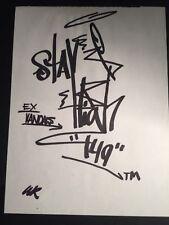 STAYHIGH 149 - graffiti sur papier  -cope2/seen/taki/quik/crash/rd357/dondi/iz