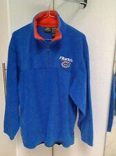 Fleece Pullover blau Gr. M