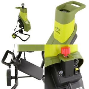 Portable1.5 in. 14 Amp Electric Wood Chipper/Shredder ETL Approved
