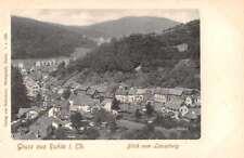 Ruhla Germany Blick vom Liesenberg Gruss aus Antique Postcard J75122