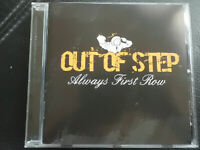 OUT  OF  STEP  -  ALWAYS  FIRST  ROW  , CD  2008 , HARDCORE  PUNK, SELF RELEASED