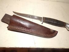 CASE XX 316-5 FIXED BLADE HUNTING KNIFE WITH SHEATH ESTATE FIND