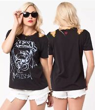 Metal Mulisha Ladies Main Stage Top Size XS