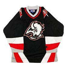 Vtg Rare NHL Buffalo Sabres CCM Starter Hockey Jersey. Mens Large.
