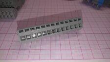 2 x  Leiterplattenklemme WAGO 236 Federkraftklemmblock 13-polig - 2,5 mm² RM 5,0