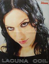 Rammstein   /   Lacuna Coil  ___  1 Poster / Plakat   ___   45 cm x 58 cm