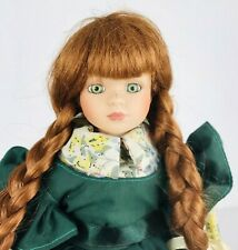 Anne of Green Gables Porcelain Doll by Avonlea Traditions L.M. Montgomery