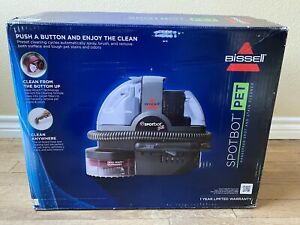 Bissell SpotBot Pet Portable Carpet & Upholstry Cleaner Shampooer 33N8 * New *