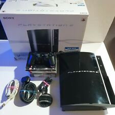 Sony Playstation 3 80GB Fat Console With Leads Controller Boxed and games