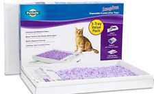 Free Shipping Self-Cleaning Cat Litter Box Tray with Lavender Non-Clumping