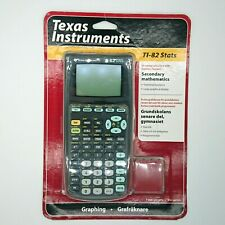 Texas Instruments Graphical Scientist Calculator Ti-82 Stats New / Black