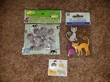 Sandylion Essentials Precious Kitty  Dimensional Stickers