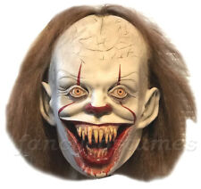 2019 IT Pennywise Mask Chapter 2 Deluxe Latex Pennywise Clown Halloween Mask