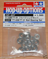 Tamiya 53497 TT-02B/TT-01 Ball Bearing Set (TT01/TT01D/TT01R/TT02B/Neo Scorcher)