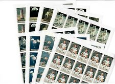 GUINEA MNH 1980 Moonlanding anniversary 8v IMPERFORATED SHEETS  s31714