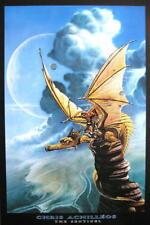 Chris Achilleos póster the sentinel heavy metal cómic