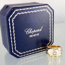 Anello Chopard Happy Diamonds circa 0,15ct BRILLANTINI FC 750/18k GIALLO