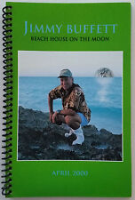 * JIMMY BUFFETT * 2000 - Beach House On The Moon Tour itinerary book - Excellent