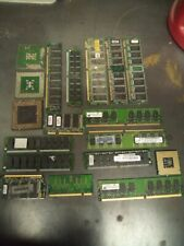 Computer Memory RAM Boards for Scrap Precious Metal Recovery GOLD
