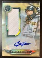 COREY DICKERSON 2019 Topps Triple Threads Gold Autograph Patch Relic SP /25