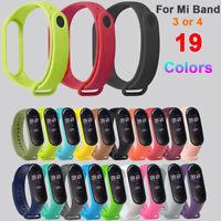 Silicone Bracelet Wrist Strap Replacement Wristband  for Xiaomi Mi Band 4 3