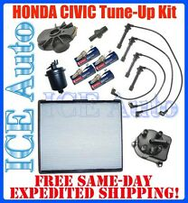 96-00 fits Honda CIVIC CX DX LX TUNE-UP KIT Filters Plugs Wires Cap Rotor Valve