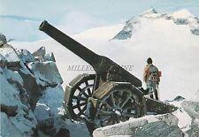 MILITARE - ARTIGLIERIA - Gruppo Adamello  Presanella - Cannone 149G