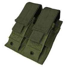 Condor Double Pistol Mag Pouch MOLLE Webbing Ammo Holder Shooting Olive Drab