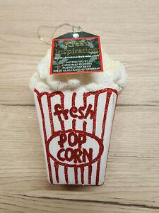 Krebs Lauscha Popcorntüte aus Glas 10 cm