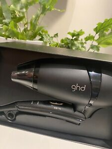 ghd Flight Travel Hair Dryer With Protective Bag Brand New