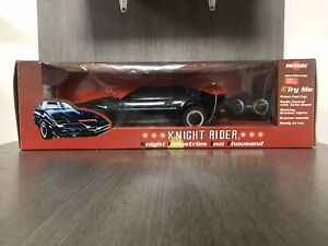 Knight Rider Radio Controlled Hitari retro KITT lights sounds Rare Band 27 MHz