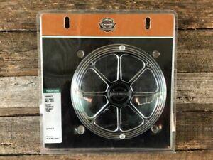 Harley Genuine Billet Speaker Burst Trim Kit Pair - NEW - Touring - # 76000522