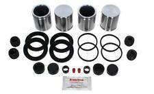 for NISSAN CABSTAR 45 2006-12 FRONT Brake Caliper Seal Kit +Pistons (BRKP462)