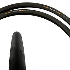 2 Pack Continental Ultra Sport II Tire 700x25 Black Wire Bead-2 Pack-New