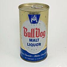 Bull Dog Malt Liquor Beer Can 12 oz Ss General Brewing Co Los Angeles Ca #50-9