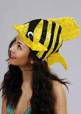 Funny Tropical Fish Hat SINGLE ITEM ASSORTED COLOUR