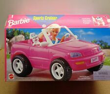 1998 BARBIE SPORT CRUISER MATTEL Vehicle NEVER REMOVED FROM BOX