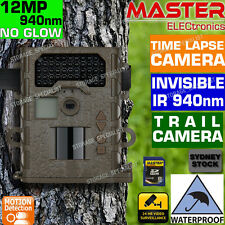 Trail Camera Outdoor Waterproof Security Cam Motion Activated IR (No Spy Hidden