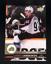 2017-18 UD Midnight GABRIEL LANDESKOG 03/25 #296 Exclusive Expo Redemption