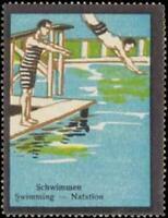 Reklamemarke Schwimmen - 379277