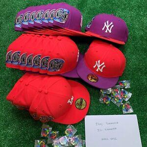 Hat Club Exclusive Jae Tips Pin New York Yankees LA Dodgers New Era Icy Pinky