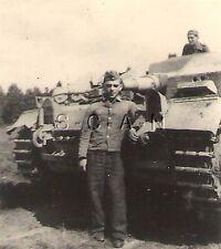 Small German Style Panzer Photo- WWII Tank- Panzerkampfwagen III- Panzer III