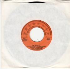 GEORGE THOROGOOD - I'M WANTED/RESTLESS - MINT ROUNDER 45 - UNPLAYED NEW