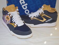 "New Reebok Pump Omni Lite ""Notre Dame"" Athletic Navy/Brass/White Rare Twilight"