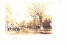 Southbridge, Ma Main Street Rppc @ 1906