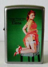 Zippo vintage pinup girl elena limited edition 017 van 250