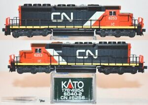 Canadian National CN (IC) 6256 SD40-2 Kato 176-4954 N Scale AP16.9